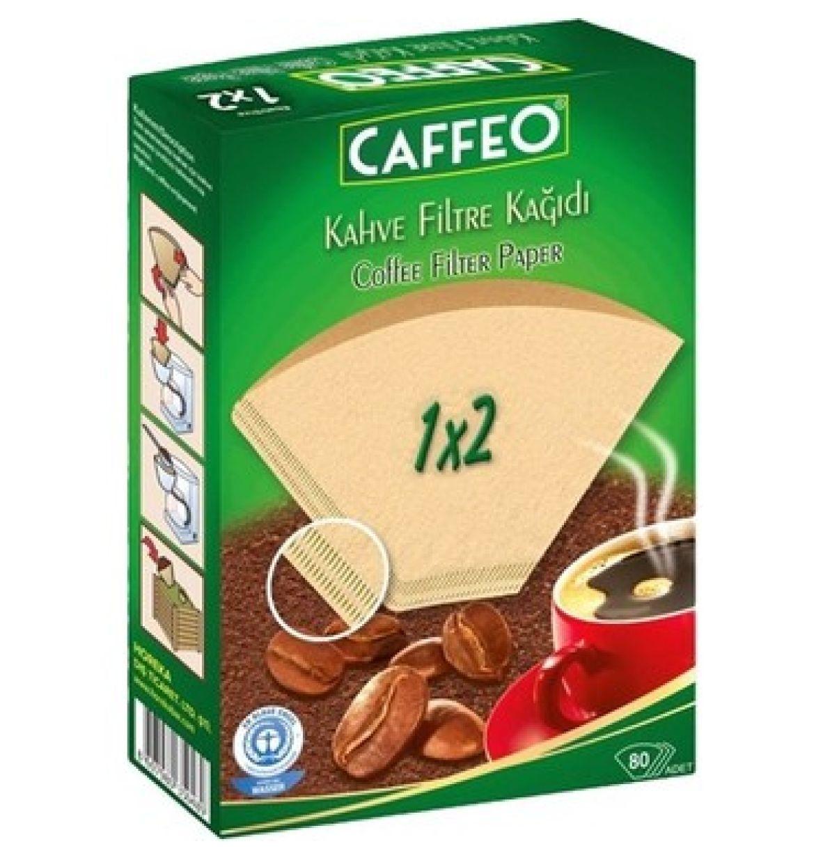 Caffeo Filtre Kağıdı 1x2
