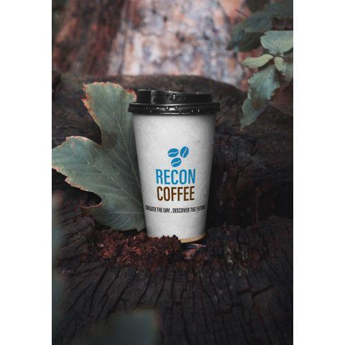 Recon Coffee Karton Bardak 50 adet