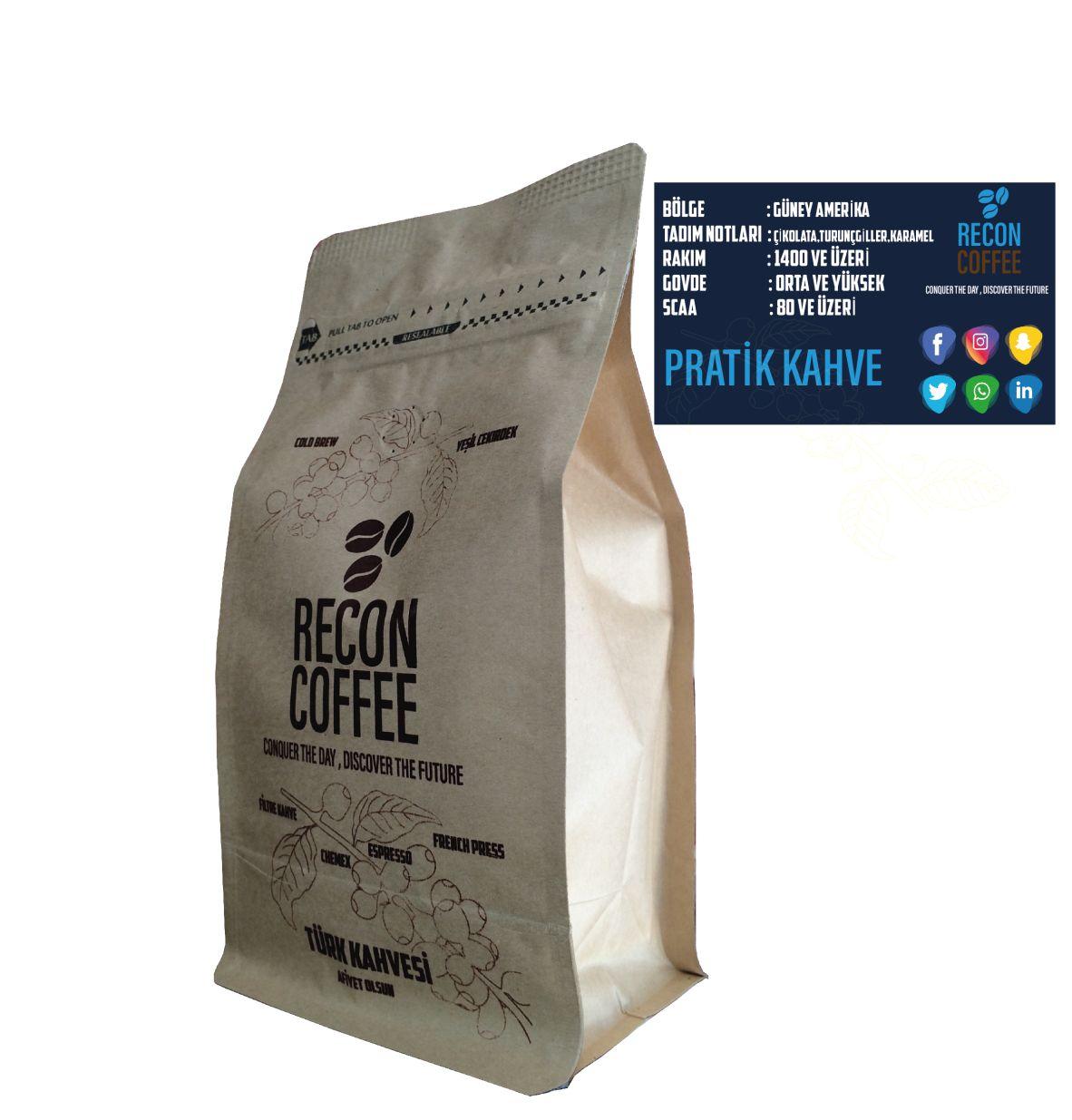 Recon Coffee Pratik Filtre Kahve 20 adet